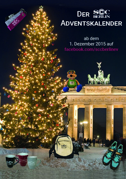 SchwarzesC Adventskalender ohne Text