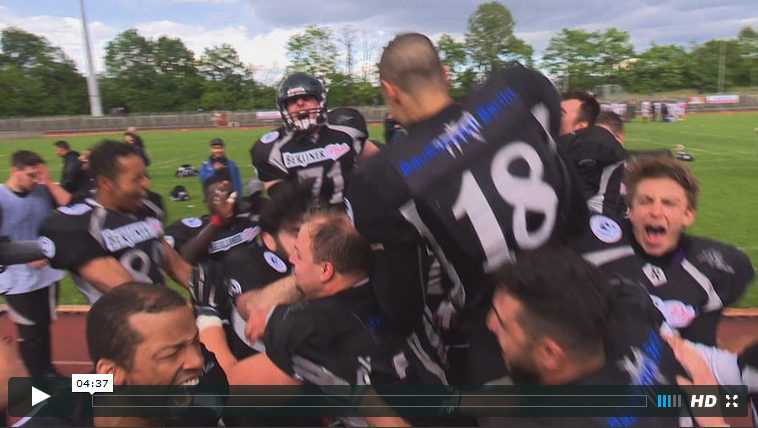 Berlin Rebels Kiel Baltic Hurricanes 2016
