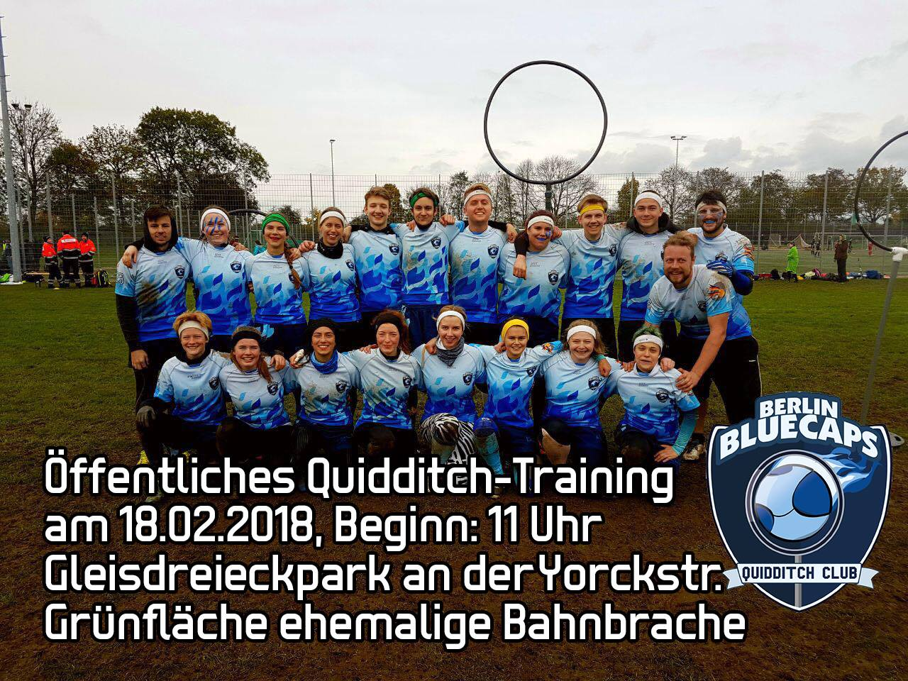OFFENES TRAINING SCC BERLIN BLUECAPS