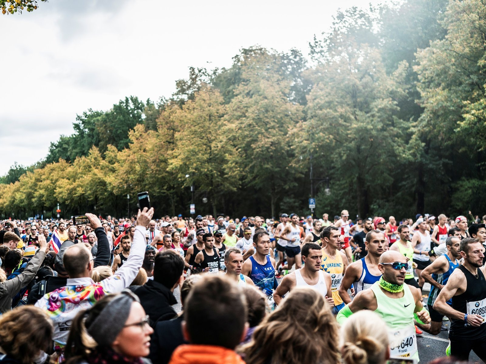 2019 BMW Berlin Marathon Foto Wells
